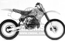 Honda CR250R ELSINORE 1986 G USA