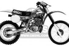 CR450R ELSINORE 1981 (B) USA
