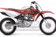 Honda CRF80F 2004 (4) EUROPEAN DIRECT SALES / CMF parts