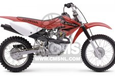 Honda CRF80F 2004 (4) MEXICO parts