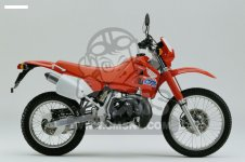 Honda CRM125R 1990 (L) BELGIUM parts