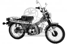 Honda CT110 TRAIL 1980 A USA