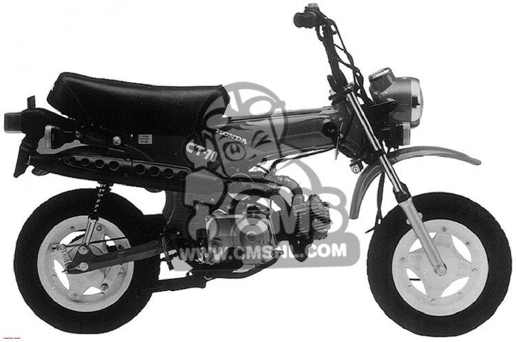 Honda CT70 1992 N USA