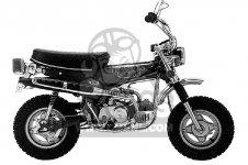 honda ct70 trail 70 1974 ct70k3 usa parts lists and schematicsHonda Ct 70 K3 Clutch Assembly Diagram #11