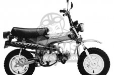 Honda CT70 TRAIL 70 1981 USA