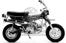 honda ct70 trail 70 k1 1972 usa parts list partsmanual. Black Bedroom Furniture Sets. Home Design Ideas