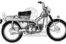 honda ct90 trail 1969 k1 usa parts lists and schematics1969 Honda Ct90 Parts #1