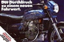 Honda CX500 1978 GERMANY 27PS TYPE