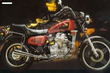Honda CX500C CUSTOM 1981 B GERMANY   27PS