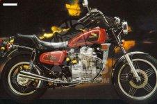 Honda CX500C CUSTOM 1981 B GERMANY   FULL POWER