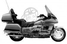 Honda GL1500 GOLDWING USA