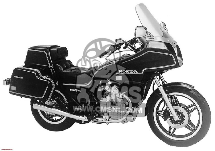 Honda Gl I Silver Wing Interstate Usa Big B on Honda Gl500 Specs
