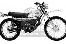 Honda MT125 ELSINORE 1974 MT125K0 USA