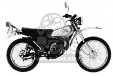 MT125 ELSINORE 1975 K1 USA