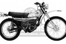 Honda MT125 ELSINORE K0 USA
