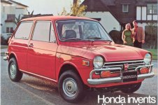 Honda N600 COUPE STATIONWAGON