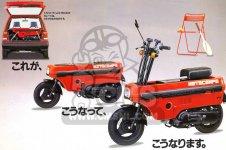 Honda NCZ50 MOTO COMPO