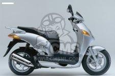 Honda NES125 2000 (Y) EUROPEAN DIRECT SALES KPH parts