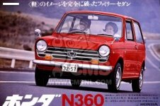 Honda N  LN SERIES COUPE  STATIONWAGON