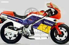 Honda NS400RF EUROPEAN DIRECT SALES