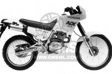 NX125 DOMINATOR 1988 (J) USA CALIFORNIA