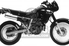 Honda NX250 1989 K USA CALIFORNIA