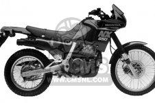 Honda NX650 DOMINATOR 1988 (J) USA parts