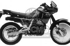 Honda NX650 DOMINATOR 1989 (K) USA parts