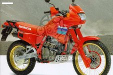 Starterrelais Anlasserrelais Honda  NX650 Dominator RD02 1988-1994