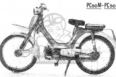 PC50L LITTLE HONDA DELUXE ENGLAND NETHERLANDS BELGIUM