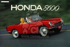Honda S600 CONVERTIBLE GENERAL EXPORT AS285