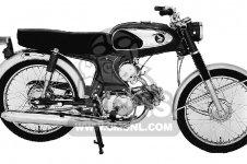 Honda S90 SUPER 90 1964 U S A