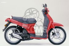 Honda SH50 SCOOPY 1999 GERMANY   KPH