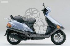 Honda SJ50 BALI 1993 (P) FRANCE CMF parts