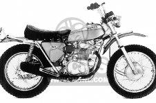 SL350 MOTOSPORT 1969 K0 USA