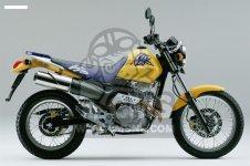 Honda SLR650 VIGOR 1997 (V) ENGLAND / MKH parts