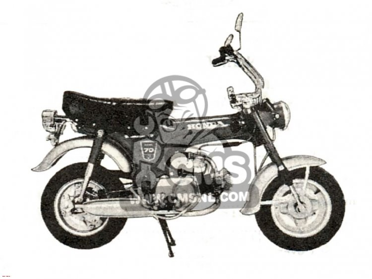 Honda ST70 AUSTRALIA
