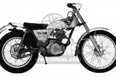 TL125 TRIALS 1973 K0 USA