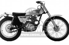 TL125 TRIALS 1974 K1 USA