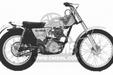 TL125 TRIALS 1975 K2 USA