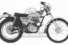 TL125S TRIALS 1976 USA