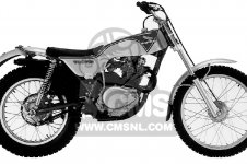 Honda TL250 TRIALS 1975 K0 USA