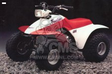 S L in addition  further  additionally  additionally Honda Trx Fender Set Americanlisted. on 1985 honda trx 125 parts