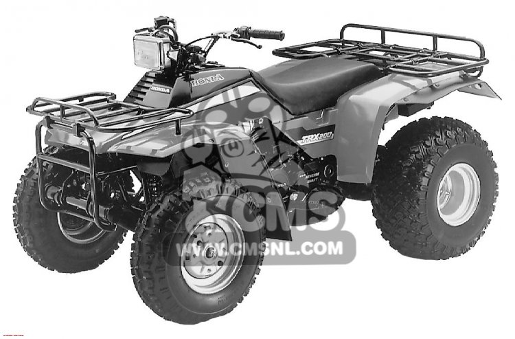 Wiring Diagram For 84 Honda Trx 200 : Wiring diagram for trx get free image about