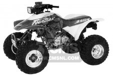 Honda TRX250X FOURTRAX 250X 1991 M USA