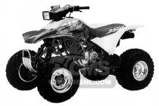 Honda TRX250X FOURTRAX 250X 1992 N USA Parts Lists And Schematics