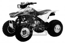 Honda TRX250X FOURTRAX 250X 1992 USA