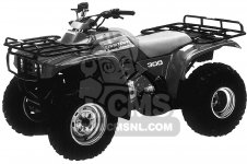 Honda TRX300 FOURTRAX 300 1990 L USA