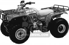 Honda TRX300 FOURTRAX 300 1993 P USA