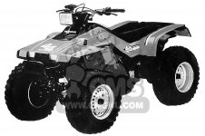 Honda TRX350 FOURTRAX 4X4 1986 USA